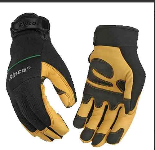 Kinco Pro 102HK Lined Leather Via Ferrata Gloves