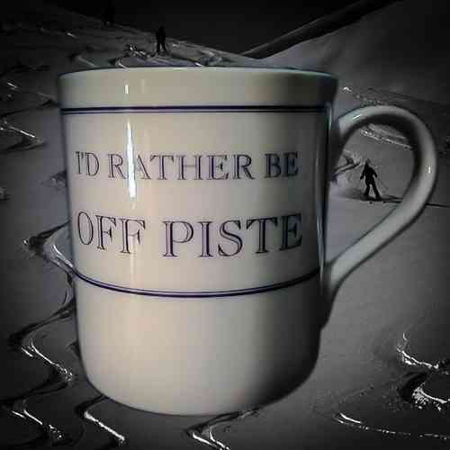 I'd Rather Be Off Piste Mug
