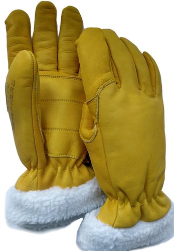 Snowshepherd Leather Ski Work Gloves
