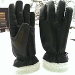 Snowshepherd Black Sheep Leather Ski Work Gloves