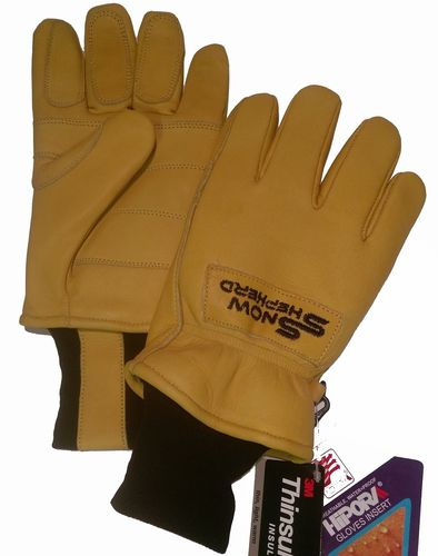 Snowshepherd Leather Ski Guide Pro Gloves Tan