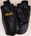 Snowshepherd Leather Ski Guide Pro Mittens Black