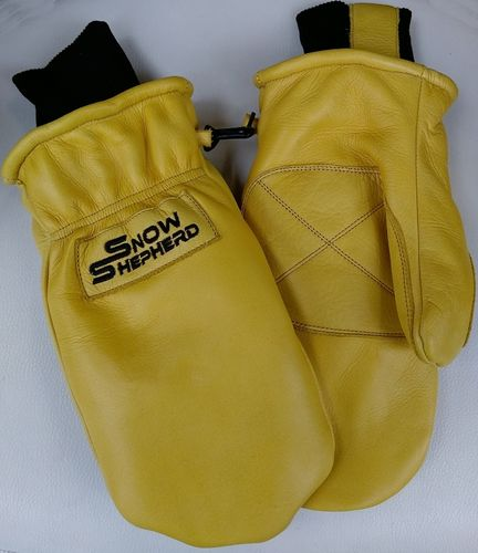Snowshepherd Leather Ski Guide Pro Mittens Tan