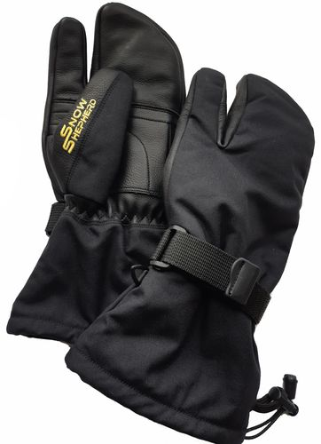 Snowshepherd 3 Finger Mittens Black